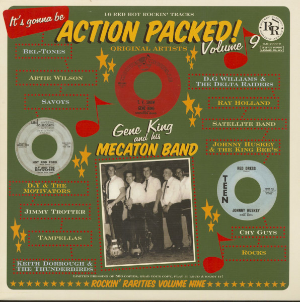 Action Packed! Vol.9 (LP)