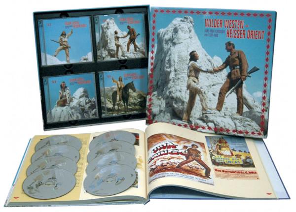 Wilder Westen, Heisser Orient - Karl-May-Filmmusik von 1936 - 1968 (8-CD)