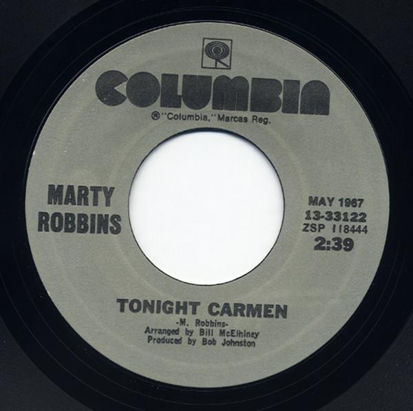 Tonight Carmen - Gardenias In Her Hair 7inch, 45rpm