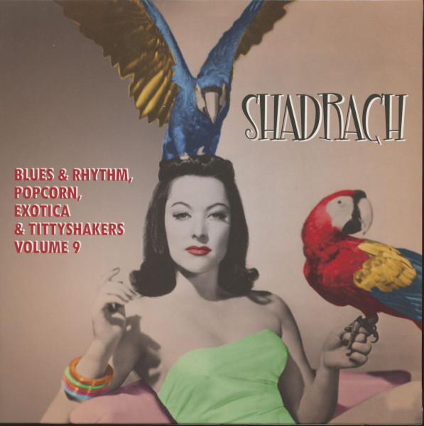 Shadrach - Exotic Blues & Rhythm Vol.9 (LP, 10inch)