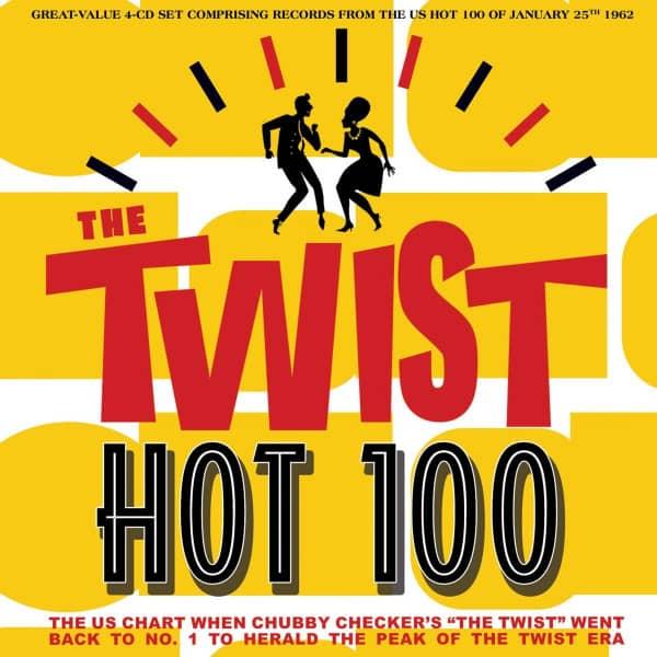 The Twist Hot 100 25th January 1962 (4-CD)