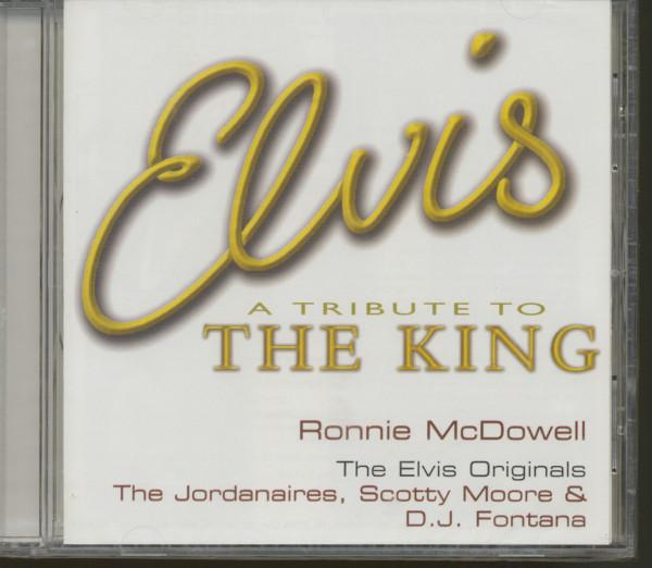 A Tribute To The King (EU) (CD)
