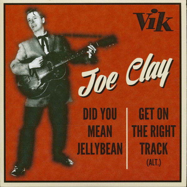 Did You Mean Jelly Bean - Get On The Right Track (alt.) (7inch, 45rpm, PS. Ltd.)