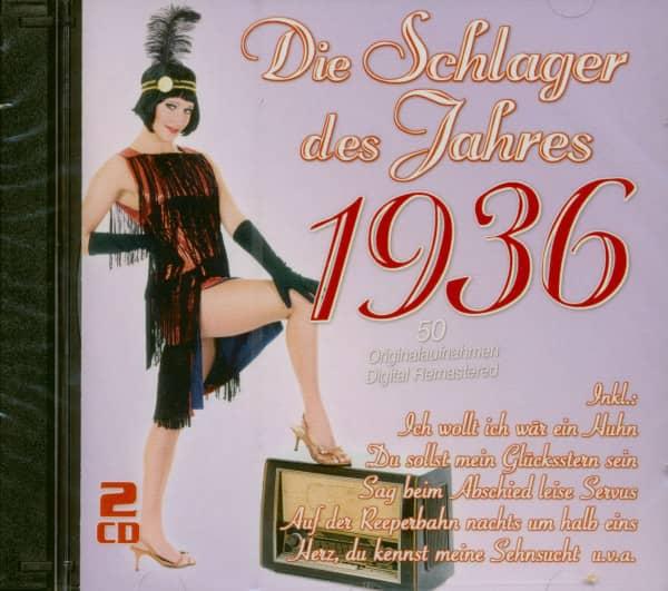 Die Schlager des Jahres 1936 (2-CD)