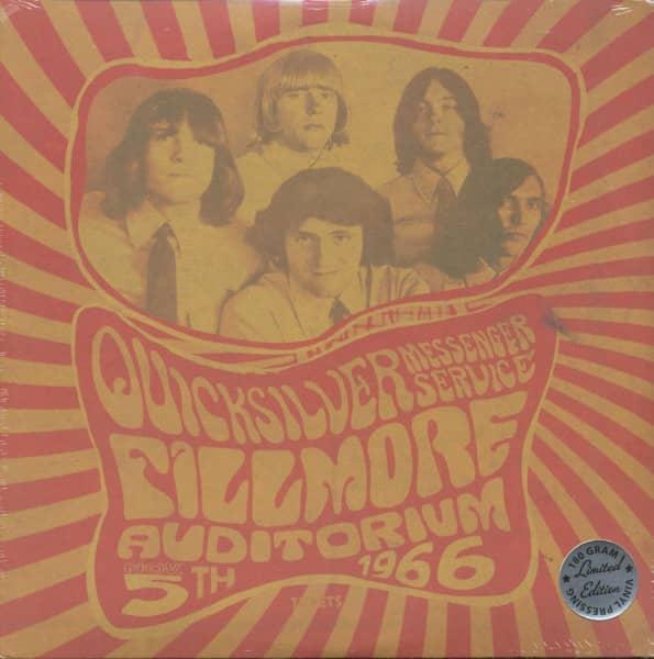 Fillmore Auditorium, Nov. 5th, 1966 (LP, 180g Vinyl, Ltd.)