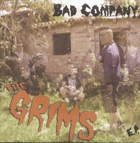Bad Company EP (7inch, 33rpm, PS, SC, Red Vinyl, Ltd.)