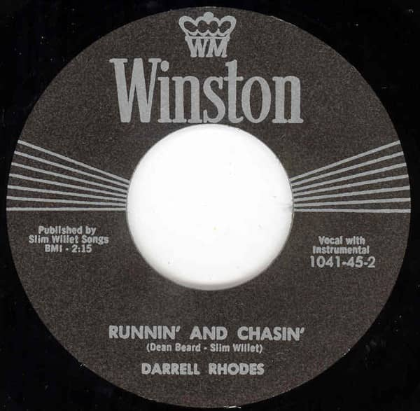 Runnin' And Chasin' - Can I Be The One (7inch, 45rpm)