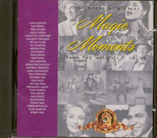 Great MGM Stars - Magic Moments - From The Musical Vol. 2 (CD)