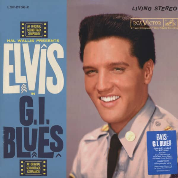 G.I.Blues...plus (2-LP 180g Vinyl) Limited Edition