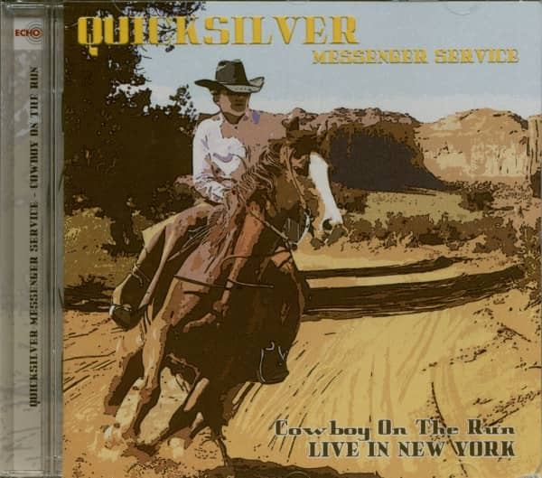 Cowboy On The Run - Live In New York 1976 (CD)