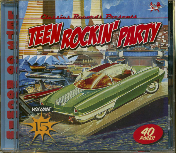 Teen Rockin' Party Vol.15 (CD)