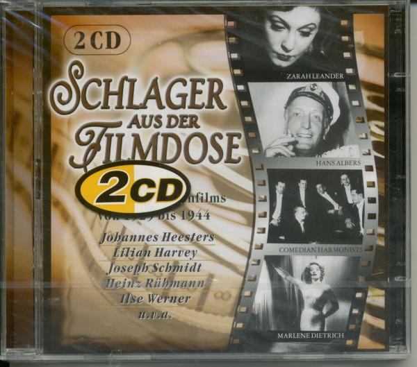 Schlager aus der Filmdose 1929-1944 2-CD