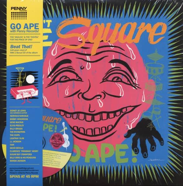 Don't Be Square Go Ape! (LP+CD)