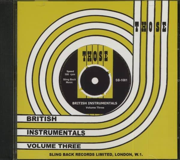 Those British Instrumentals Vol.3 (CD)