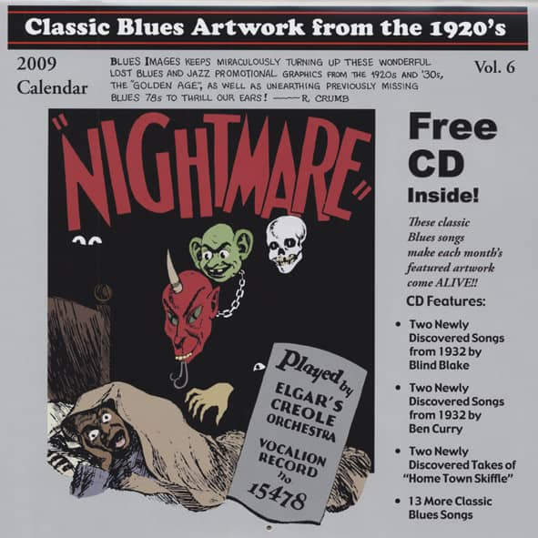 Classic Blues Artwork from the 1920's