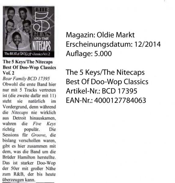 The-5-Keys_The-Nitecaps_Oldie-Markt_12-2014