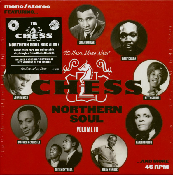 The Chess Northern Soul 7s Box Vol.3 (7x45rpm Box Set, 7inch, SC)