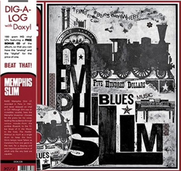 I Find The Blues Everywhere (LP&CD)