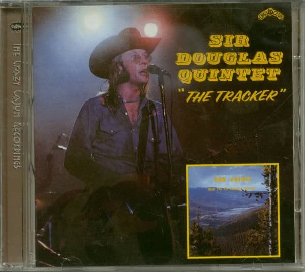 The Tracker - Don Goldie With The Sir Douglas Quintet (CD)
