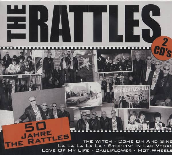 50 Jahre The Rattles (2-CD)