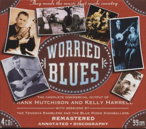 Worried Blues (4-CD)