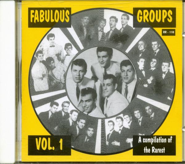Fabulous Groups Vol.1 (CD)