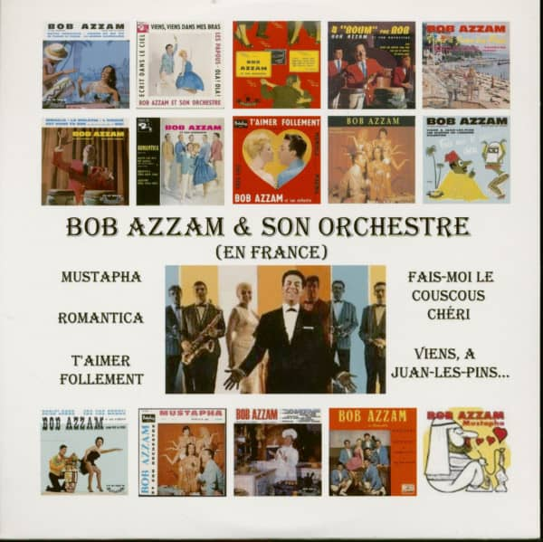 Bob Azzam &ampamp; Son Orchestre (En France ) plus bonus tracks (CD)