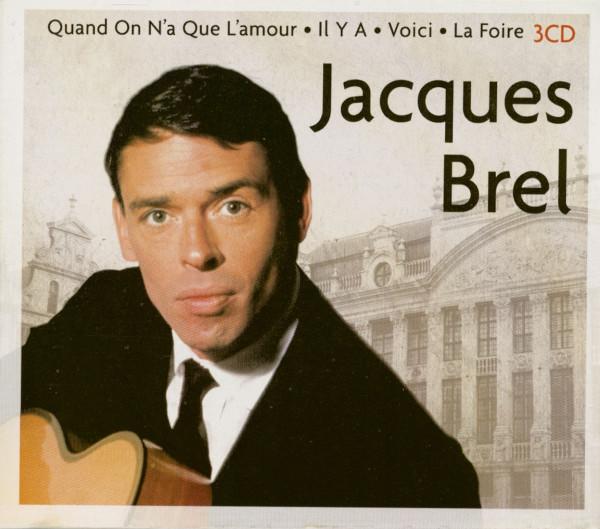 Jacques Brel (3-CD)