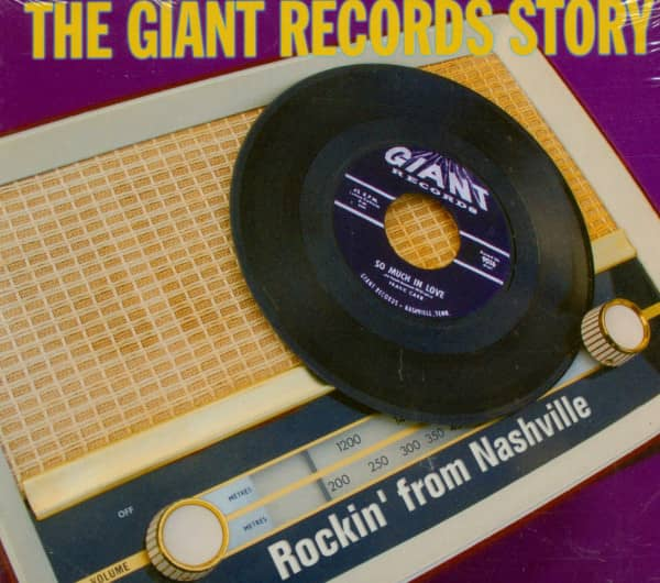 Giant Records Story - Rockin' From Nashville (CD)