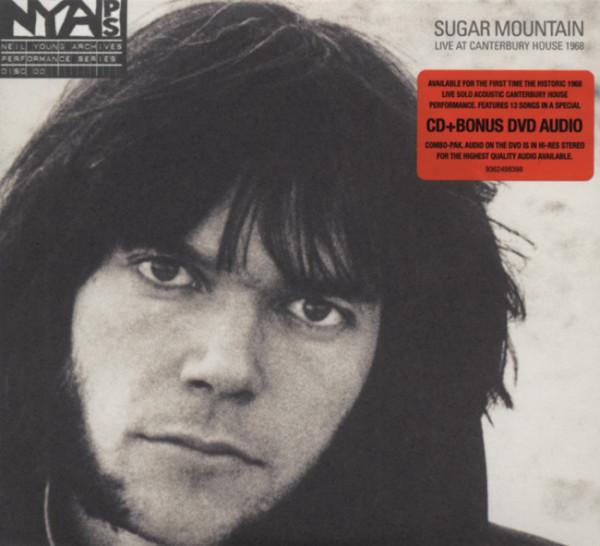 Sugar Mountain - Live 1968 (CD&DVD)