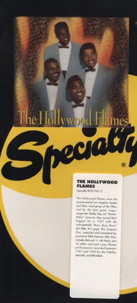 The Hollywood Flames - Specialty (CD)