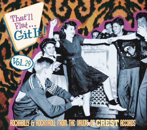 Vol.29 - Rockabilly & Rock 'n' Roll From The Vaults Of Crest Records (CD)