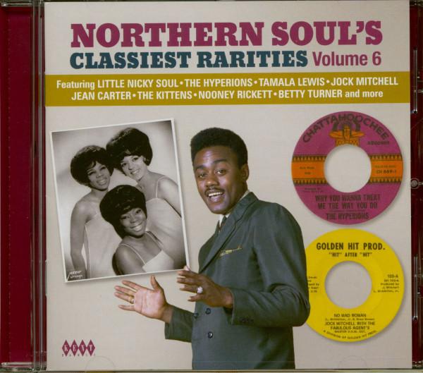 Northern Soul's Classiest Rarities Vol.6 (CD)
