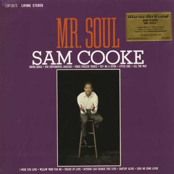 Mr. Soul (LP, 180g Colored Vinyl, Ltd.)