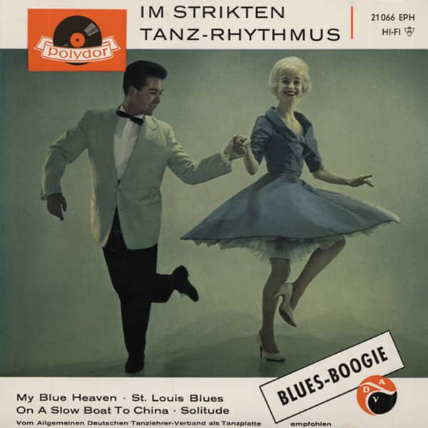 Blues - Boogie Im Strikten Tanz...7inch, 45rpm, EP, PS