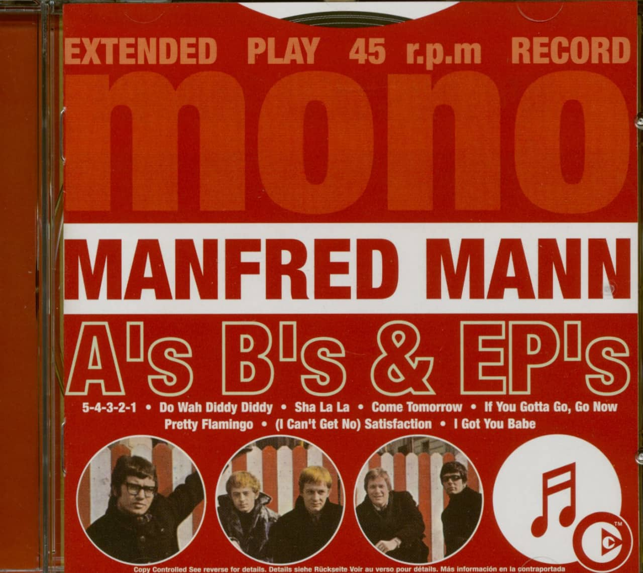 Manfred Mann - A´s B´s & Ep´s (CD)