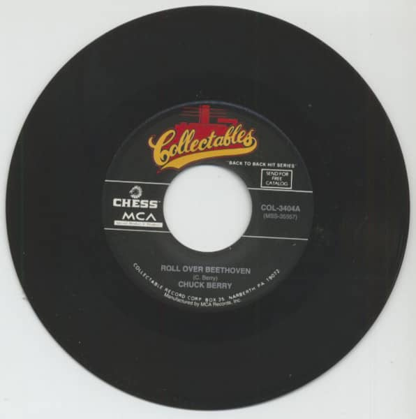 Roll Over Beethoven - My Ding-A-Ling (7inch, 45rpm)