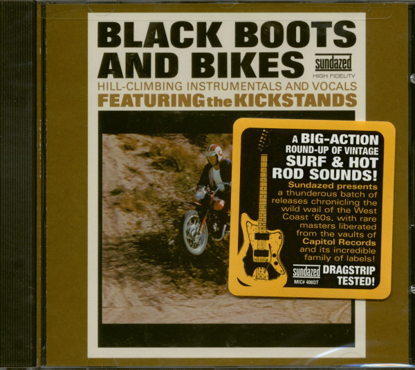 Black Boots And Bikes (CD)