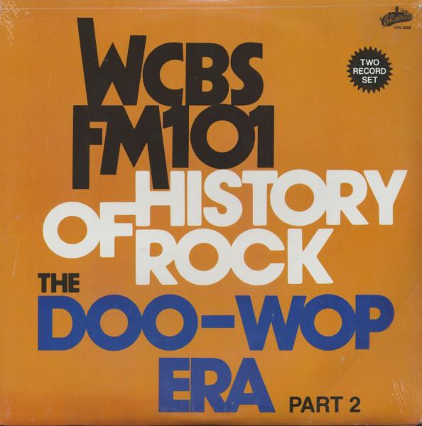 WCBS FM101 New York - The Doo-Wop Era, Vol.2 (LP)