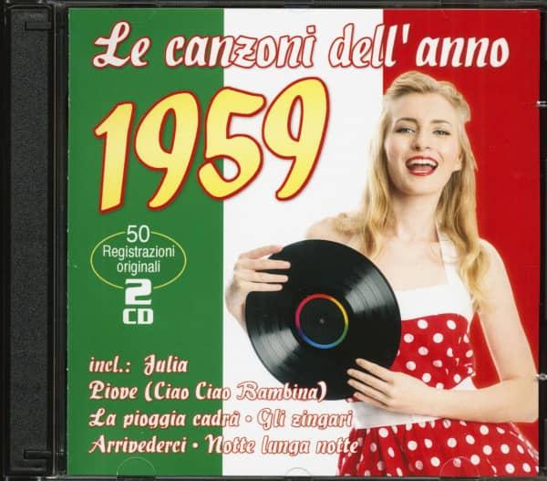 Le canzoni dell'anno 1959 (2-CD)