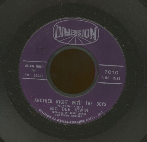 Another Night With The Boys - Swinging On A Star (7inch, 45rpm)