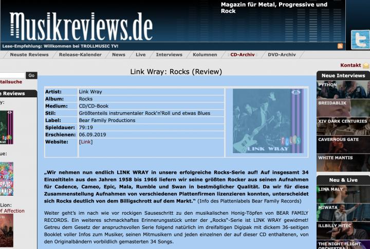 Presse-Archiv-Link-Wray-Rocks-musikreviews