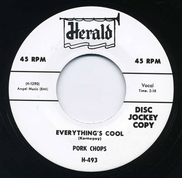 Everything's Cool - I Wanna See My Lovin'.7inch, 45rpm