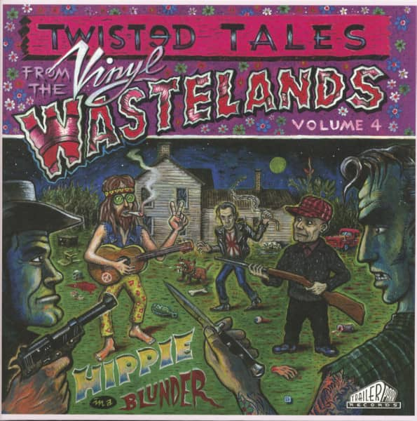 Twisted Tale From The Vinyl Wastelands Vol.4 - Hippie In A Blunder (LP, Ltd.)