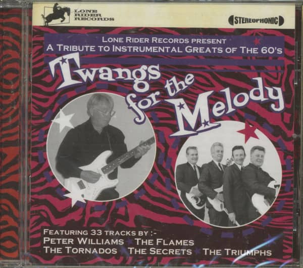 Twangs For The Melody - 60s Instro Tribute (CD)
