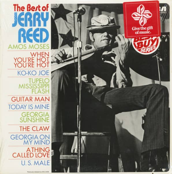 The Best Of Jerry Reed (LP, Cut-Out)