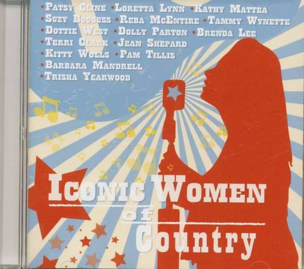 Iconic Women Of Country (CD)