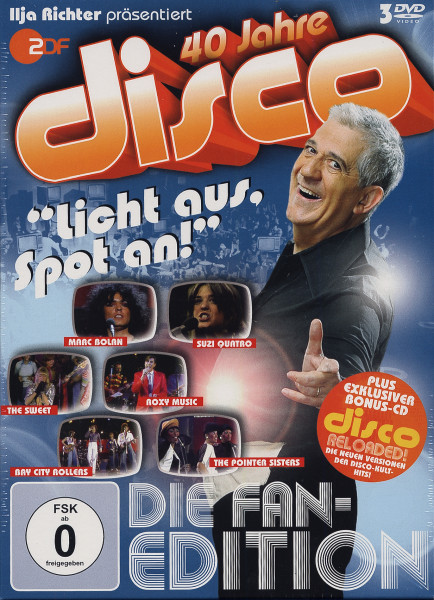 40 Jahre Disco - Die Fan Collection (3DVD+CD)