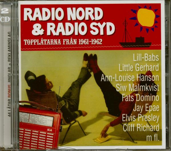 Radio Nord & Radio Syd - Topplatarna Fran 1961-1962 (2-CD)