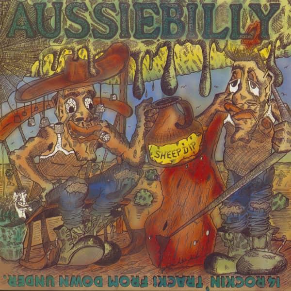 Aussiebilly - 14 Rockin' Tracks From Down Under (LP)